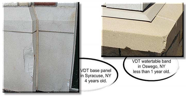 Precast Concrete Architectural Details : Steps plus wet cast products versus vibrant dry tamped