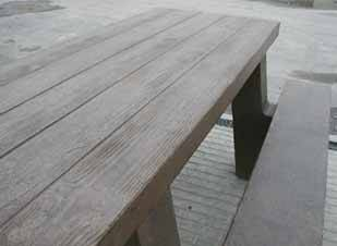 Concrete Picnic Tables Steps Plus Inc - Picnic table finish